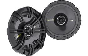 Kicker CS674 6.75 inch Coaxial speakers, Pair