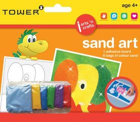 Tower Kids Sand Art - Elephant