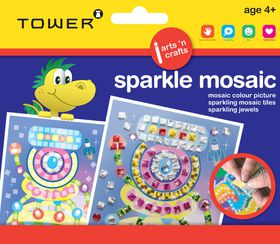 Tower Kids Sparkle Mosaic - Robot