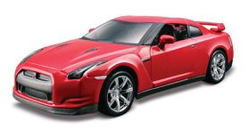 Bburago 1/32 Nissan GT-R - Street Tuners - Red