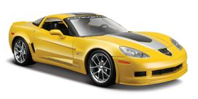 Maisto 1/24 Chevrolet Corvette Z06 GT1 2009 - Yellow
