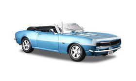 Maisto 1/24 Chevrolet Camaro SS396 Convertible 68 - Blue