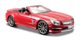 Maisto 1/24 Mercedes-Benz SL63 AMG Convertible 2012 - Red