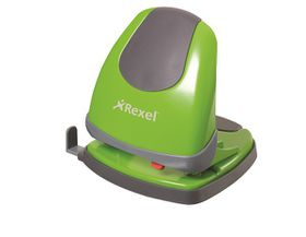Rexel Easy Touch ET230 2 Hole Punch - Green