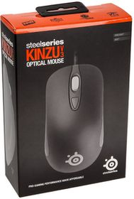 SteelSeries Kinzu V3 Mouse - Black (PC)