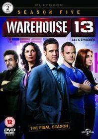 Warehouse 13: Series 5 (Import DVD)
