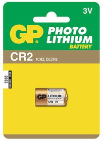 GP Batteries 3V CR2 Photo Lithium Battery