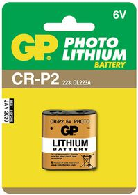 GP Batteries 6V CR2P2 Photo Lithium Battery