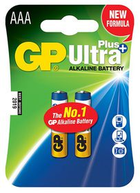 GP Batteries 1.5V AAA Alkaline Ultra Plus Batteries