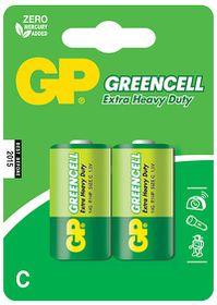 GP Batteries 1.5V C Carbon Zinc Green Cell Batteries