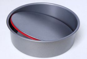 PushPan - Non Stick Round Cake Tin