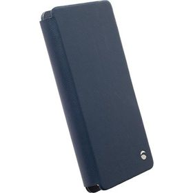 Krusell Malmo FlipWallet 4XL Fits Most SmartPhones - Blue