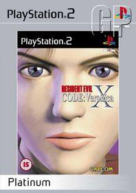 Resident Evil Code: Veronica X - Platinum (PS2)