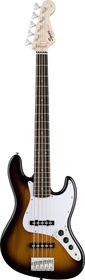 Squier by Fender Affinity Jazz Bass 5 String Rosewood Fretboard - Brown Sunburst