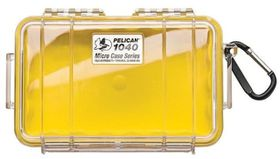 Pelican 1040 Micro Clear Case - Yellow