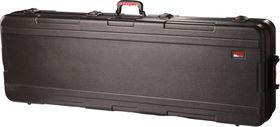 Gator GKPE-88SLXL-TSA ATA Molded PE Slim Extra Long Case for 88 Note Keyboard with Wheels