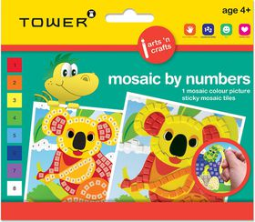 Tower Kids Mosaic by Numbers - Koala Bear