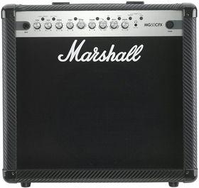"Marshall MG50CFX MG Carbon Fiber Series 1 x 12"" 50 Watt Electric Guitar Amplifier Combo with EFX"