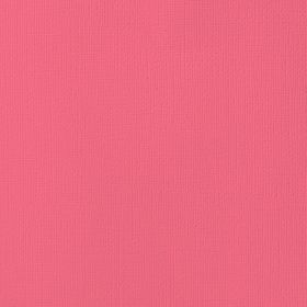 American Crafts Cardstock 12x12 Textured - Grapefruit