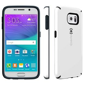 Speck Galaxy S6 Candyshell - White/Charcoal Grey