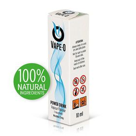 Vape-O Nicotine Refill Liquid - Power Drink Flavour - 12mg