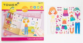 Tower kids Dress-up Stickers - Fashion Orange