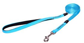 Rogz Lapz 13mm Small Luna Fixed Long Dog Lead - Blue