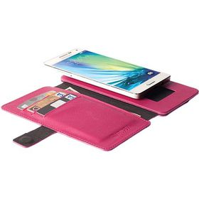 Krusell Malmo 4XL FlipWallet Universal - Cerise/Pink
