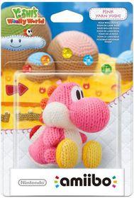 Amiibo Yarn Yoshi - Pink