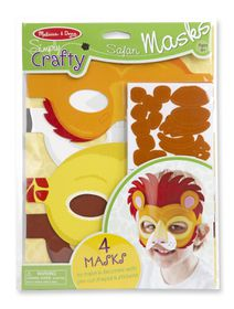 Melissa & Doug Simply Crafty - Safari Masks