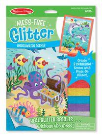 Melissa & Doug Underwater Scenes - Mess Free Glitter