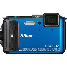 Nikon AW130 Underwater Digital Camera Blue