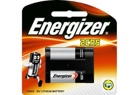 Energizer Photo Lithium 6v 2CR5 Battery