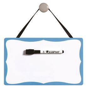 Quartet Vintage Magnetic Dry Erase Board - Blue