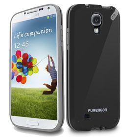 PureGear Slim Shell Case for Samsung S4 - Black
