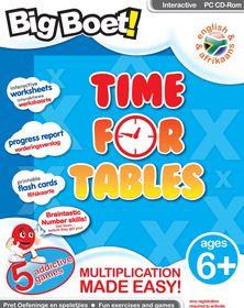 Edupro Big Boet! Time for Tables