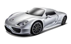 Maisto 1/14 R/C Porsche 918 Spyder with Alkalines - Grey