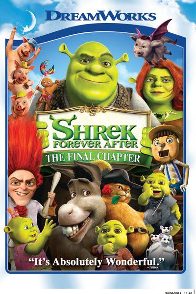 Shrek Forever After DVD Release Date December 7, 2010