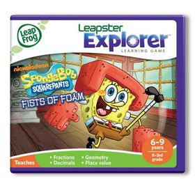 LeapFrog - Explorer Game - Spongebob Square Pants
