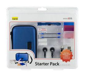 Logic 3: 3DS Starter Pack - Blue (3DS)