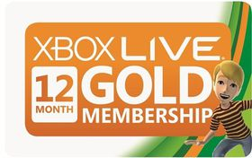 Xbox Live 12 Month Gold Card (SA)