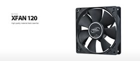 Deep Cool XFAN 120 Case Fan Black