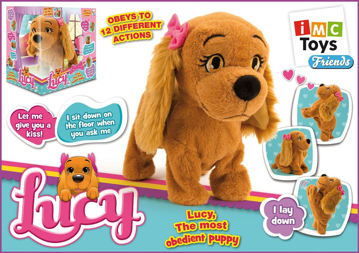 Amazon.com: Club Petz Girls Lucy The Dog Plush: Toys & Games