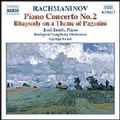 Jeno Jando - Piano Concerto No. 2 / Rhapsody Paganini (CD)