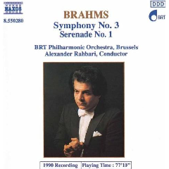BRT Philharmonic Orchestra Brussels - Symphony No. 3 / Serenade No. 1 (CD)