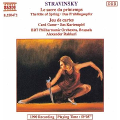 BRT Philharmonic Orchestra Brussels - Rite Of Spring / Jeu De Cartes (CD)