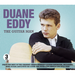 Duane, Eddy - The Guitar Man (CD)