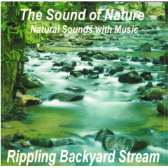 Sound Of Nature - Rippling Backyard Streams - Various Artists (CD)