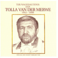 Tolla Van Der Merwe - Ter Nagedagtenis Aan (CD)