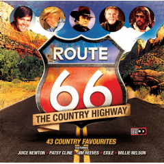 Route 66 - Route 66 - The Country Highway (CD)